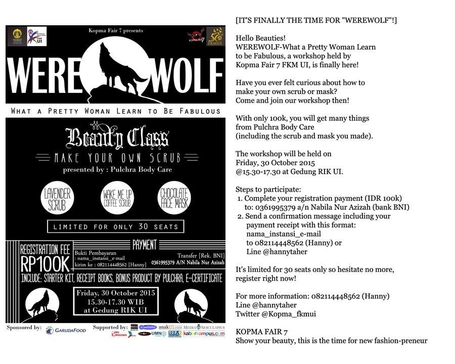 kopma fair werewolf