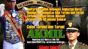 advertisement daftar akmil