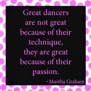 Quotes dance