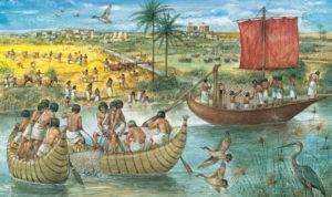 ilustrasi sungai nil