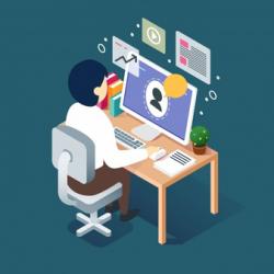webinar-concept-with-man-desk_23-2147765647